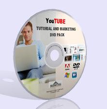 Paquete de Marketing y negocios de YouTube-Videos, guías, software y más! DVD