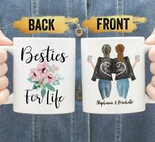 Custom Best Friend Coffee Mug Bff Gifts For Sister Long Distance Friendship Mug