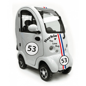 """Scooterpac Cabin Car MK 2 """"LOVE BUG"""" Mobility Scooter"""