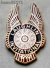 "1992 LAUGHLIN NEVADA ""INVITATIONAL"" BIKE WEEK JACKET VEST HAT TAC PIN"