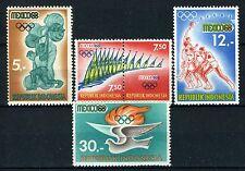 INDONESIE: ZB 622/625 MH* 1968 Olympische spelen in Mexico