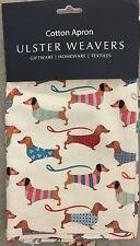 ULSTER WEAVERS Dachshund Dog With Striped Sweater Cooking Apron Cotton
