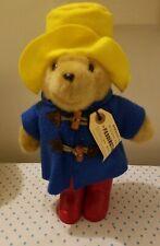 "PADDINGTON DARKEST PERU TO LONDON YELLOW HAT RED BOOTS BEAR 12"""