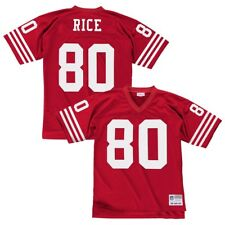 8990fa68 1990 Jerry Rice #80 49ers Mens Size 36 S Small Mitchell & Ness Jersey