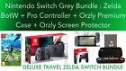 Nintendo Switch Console Legend of Zelda Breath of the Wild DELUXE TRAVEL BUNDLE