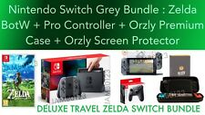 Nintendo Switch Console Legend of Zelda Breath of the Wild DELUXE TRAVEL BUNDLE