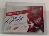 Panini Prime signatures Jordin Tootoo Detroit Red Wings 88/99