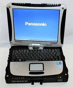 "10.4"" Panasonic Toughbook CF-19 MK4 Intel Core i5 4GB 160SSD WiFi BT Touch 0 Hrs"