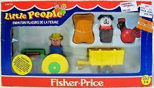 Vintage Fisher Price Little People Farm Fun # 2448 Original New in Box 1985 RARE