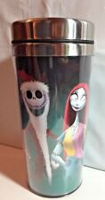 Disney Nightmare Before Christmas Travel Mug Sally, Jack and Zero
