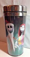 Disney Nightmare Before Christmas Travel Mug Sally, Jack and Zero
