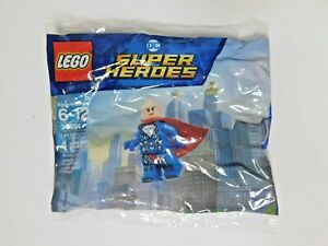 Lego DC Super Heroes Lex Luthor Mini-Figure #30614 Sealed in Bag 4 Pieces