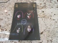 RARE Sealed KISS 1997 Alive Embossed Metal Lithographed Art Poster