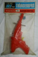 Vintage Gerry Anderson's Thunderbird Water Pistol, New in Package. A Jr 21 Toy