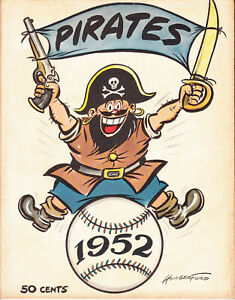 1952 Pittsburgh Pirates Yearbook