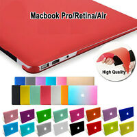 Matte Rubberized Hard Shell Case Cover For Apple MacBook air Pro 11 13 15 inch
