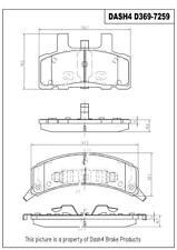 Disc Brake Pad Set-Ceramic Pads Front Pronto PCD369