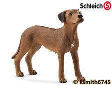 Schleich RHODESIAN RIDGEBACK DOG solid plastic toy farm pet animal * NEW *💥