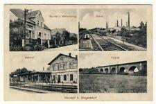 NEUDORF bei SIEGERSDORF/QUEIS - Fabrik BAHNHOF Viadukt WARENHANDLUNG - ANSEHEN
