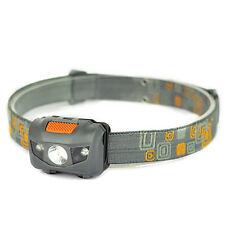 300LM Mini Super Bright Headlight R3 + 2 LED 4 mode Headlamp Head Torch