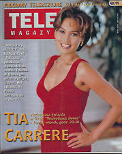 TELE MAGAZYN 99/40 (1/10/99) TIA CARRERE KEANU REEVES RED HOT CHILI PEPPERS (3)