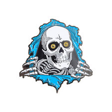 Powell Peralta Ripper 3 Blue Skateboard Lapel Pin