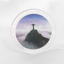 Brazil 2016 Olympic Games Jesus Mountain Corcovado Commemorative Coin with Box