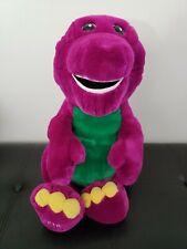 "Vintage 1992 Jumbo Barney 20"" Plush The Lyons Group Clean & Soft! Vibrant Colors"