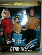 1996 BARBIE AND KEN STAR TREK 30TH ANNIVERSARY GIFT SET