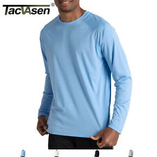 TACVASEN Men's Sun Block Performance Shirts UV Protection T-shirts UPF 50+ Tops