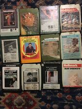 8 Track Cassettes X 12