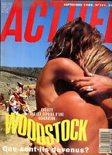 MAGAZINE ACTUEL N°123. septembre 1989.