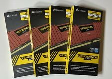 Corsair Vengeance LPX 16GB (4 x 4GB) DDR4 2400 Memory RED