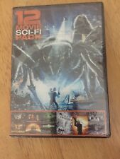 New 12 Movie Sci-Fi Pack (Dvd, 2015) Animals, Natural Disasters, Aliens & More
