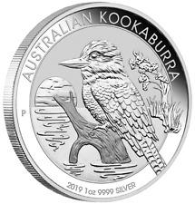 2019 Australian Kookaburra Silver $1 Coin: 1 oz .9999 Pure Solid Silver ArtRound