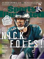 Philadelphia Eagles Sports Illustrated Nick Foles Super Bowl LII Champs 2018