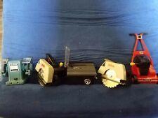 Vintage Lot Galoob Wind Up Mini Dollhouse Machine Tools