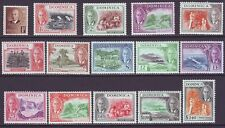 Dominica 1951 SC 122-136 MH Set