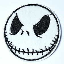 JACK SKELLINGTON Nightmare Before Christmas Iron on Patch Halloween  ~about 2.5""