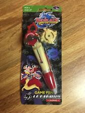 Beyblade G Revolution Game Pen, NEW. Ball Point Pen BeyBlade and Launcher