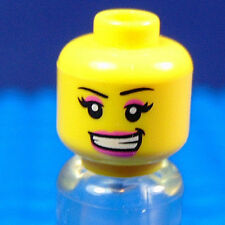 LEGO-MINIFIGURES SERIES 6] X 1 HEAD FOR THE SKATER GIRL FROM SERIES 6 PART