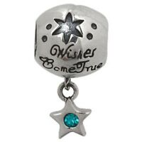 S1845 Sterling Silver Wishes Come True Bead for European Charm Bracelet