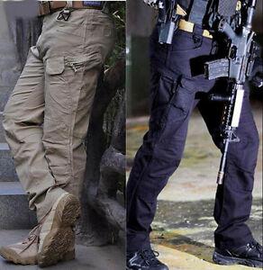 7430 Pantalon tactique Armée militaire Cargo Security Combat Randonnée Pantalons