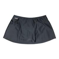 Speedo Size 12 Women's Black Swim Skirt Brief Lined