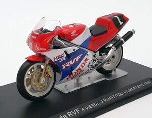 Ixo Models 1/24 Scale IB25 Honda RVF - Vieira/Mattioli/Martens - Blue/White/Red