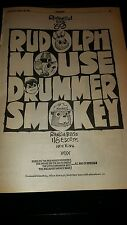 NBC Rudolph The Red Nosed Reindeer, Mouse On The Mayflower Rare Promo Poster Ad