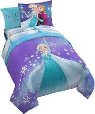 Disney Frozen Elsa & Anna Full Comforter, Sheets & Shams (7Pc Bed In A Bag)