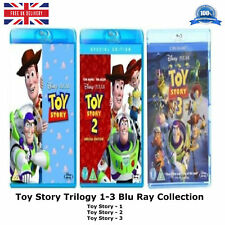 Toy Story 1-3 Collection 4-Disc BoxSet , John Lasseter Brand New Sealed Blu-ray