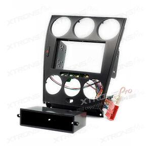Xtrons 2 Din Radio Facia Fascia Trim Manual Air-Conditioning For MAZDA 6 Atenza