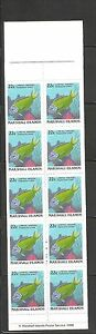Marshall Islands SC # 173a Fish. Complete Booklet.MNH